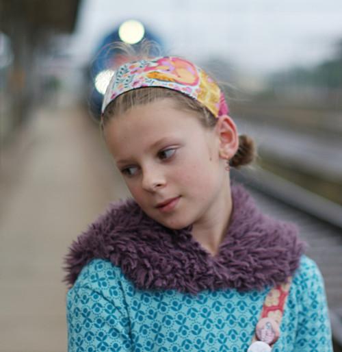 Podzimní IV... dívčí čelenka