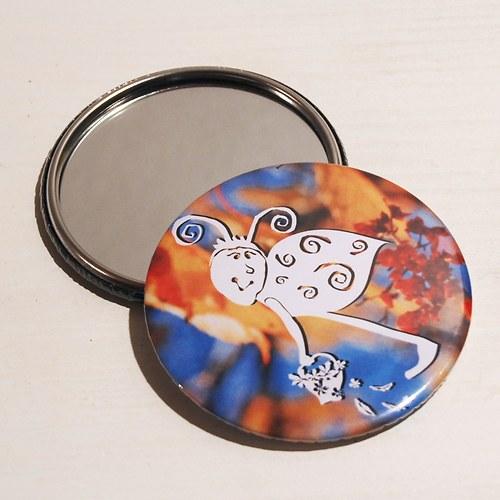 Zrcátko broučínek (75 mm) s pytlíčkem