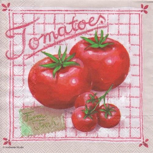 Ubrousek - rajčata