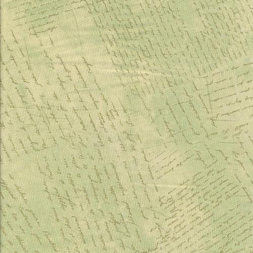 Látka Provencial texty na zelinkavé