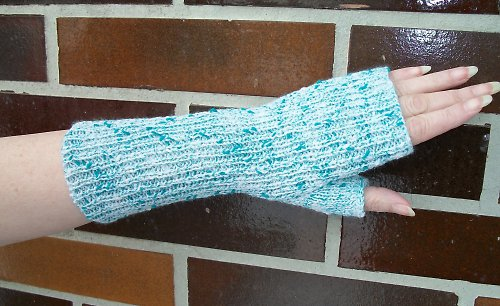 Pletené návleky na ruce - Nelly