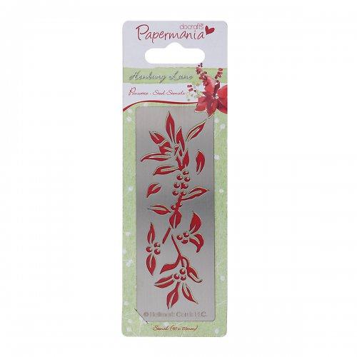 Nerezová šablona Henbury Lane - Poinsettie
