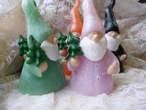 Svíčka -vánoční skřítek