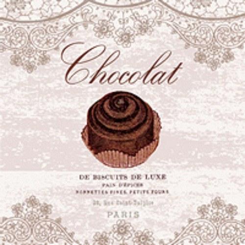 "ubrousek, motiv \""Chocolat\"""