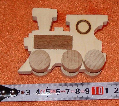 mašinka - dřevěná hračka