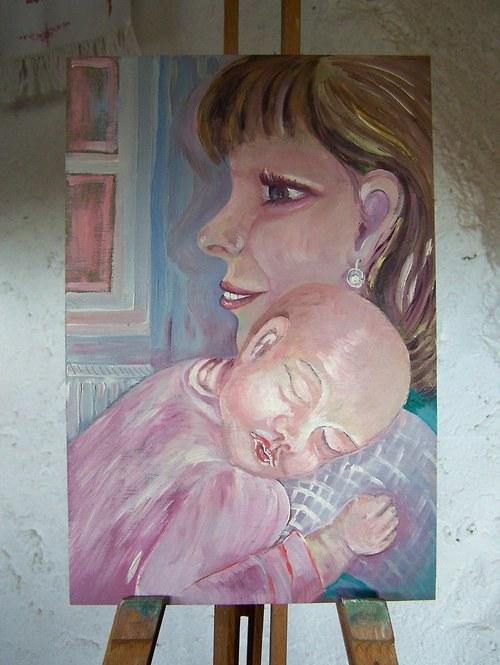 Mladá maminka