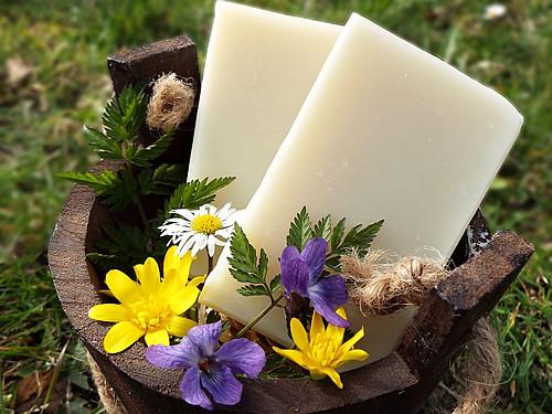 Přírodní jemné olivové mýdlo