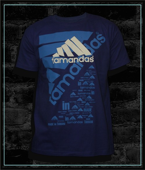 Pánské námořní modré tričko Ťamandas 02