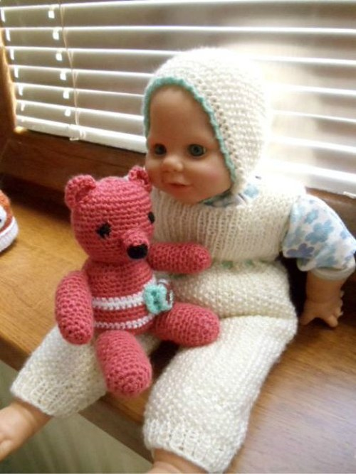 medvídek s maminkou?