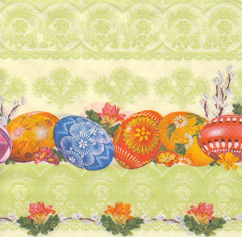 Ubrousek - vajíčka (3 ks - AKCE)