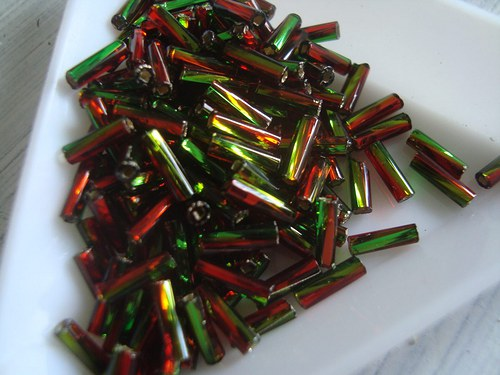 rokajl zelenočervená tyčka