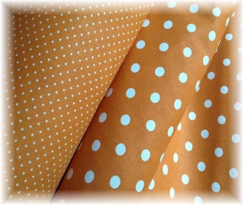 100% bavlna-látky-puntík-terakota-větší
