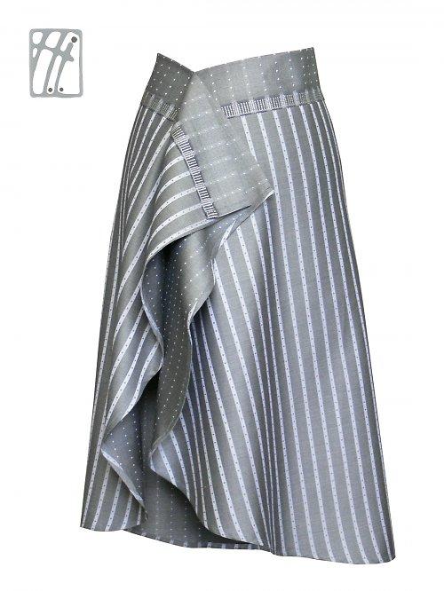 Společenská sukně Biedermeierka