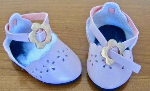 Letní sandály pro panenky