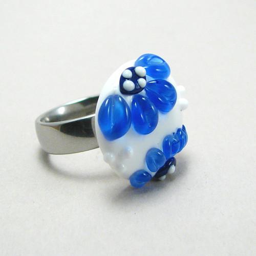Vinutka Blooms modrá