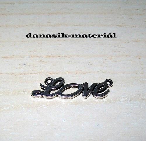 """PŘÍVĚSEK \""""LOVE\"""""""