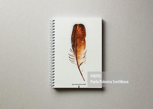 Zápisník A5 100 listů #3 - HNĚDÉ PÍRKO