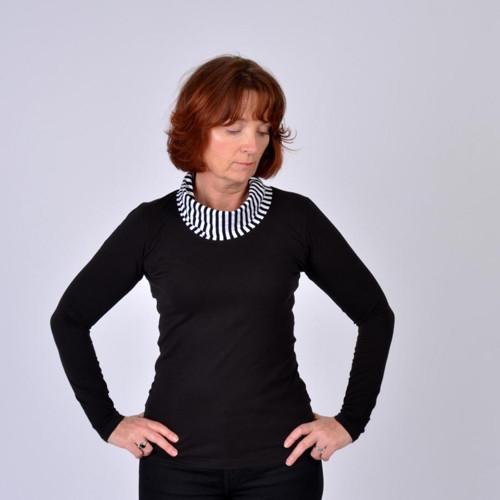 Černé tričko Josefína