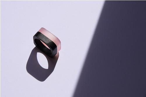 Minimal / černá a růžová