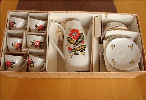Brigitte - porcelánová souprava
