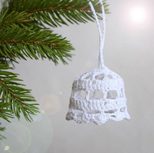 Vánoční zvonek 2 - bílý