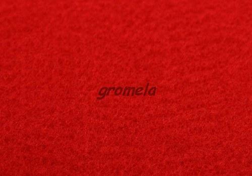 Červený filc 1,5 mm - 125