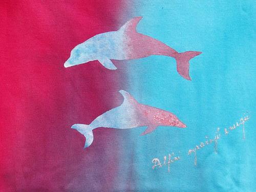 2 Delfíni...z kolekce Duhová