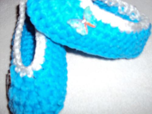 Papučky  modré  nezničitelné