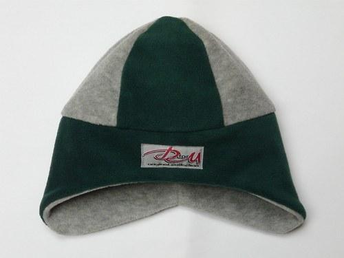 Čepice šedo-zelená, OH-50cm