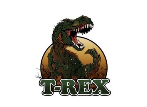 Panel - teplákovina  dinosaurus REX