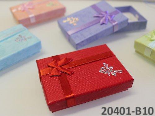 20401-B10 Dárková krabička nízká 5/7/1.5 ČERVENÁ