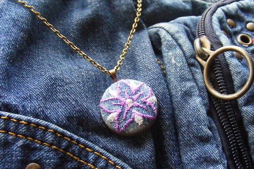 Riflový náhrdelník malý