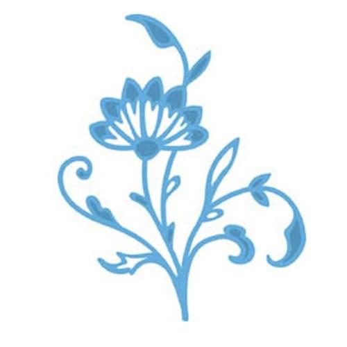 Šablona Creatables - Květina lidová