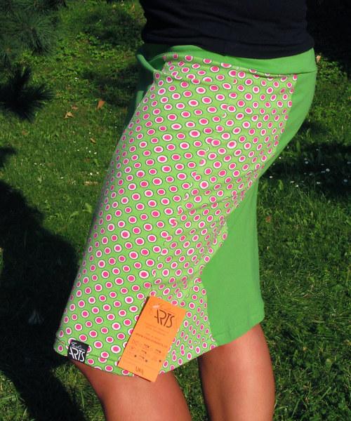 """Sukně Jolly \""""green dots I\"""" vel. 36-42"""