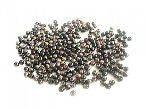Kulička černá s dekorem 1