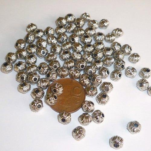 Korálky keltské 8 mm 15 ks