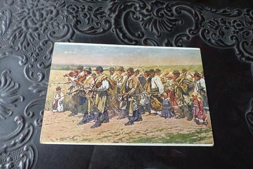 Joža Úprka - Do Rakús...stará pohlednice