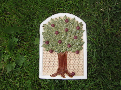 zátiší letní strom s jablíčky