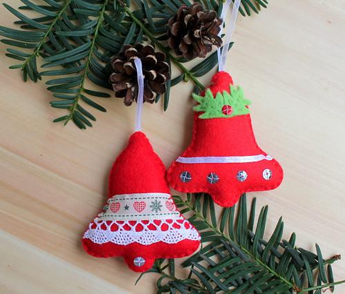 vánoční ozdba - zvoneček