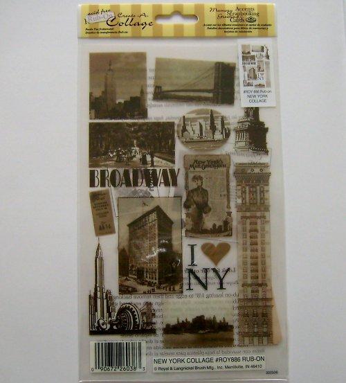 Obtisky - NEW YORK COLLAGE