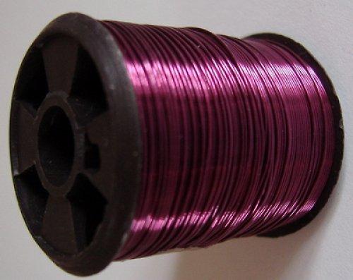 Bižuterní drátek fialový