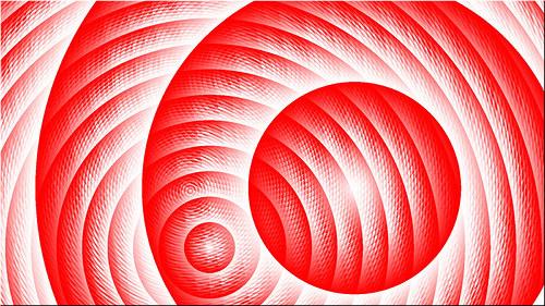Bušící srdce - fraktální grafika