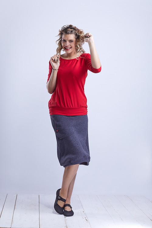 Skirt Long Gray