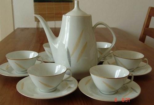 servis 60.léta porcelán