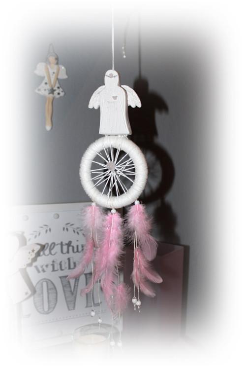 Andělský lapač snů...s růženínem