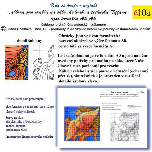 šablona č. 10a Fénix    50/200