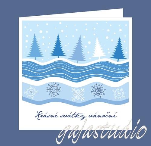 Vánoční přání  VA_43_MO