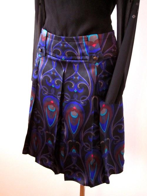 Hodvábna sukňa