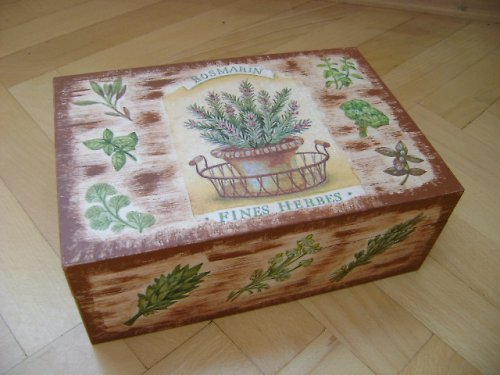 čajová krabice - rosmarin