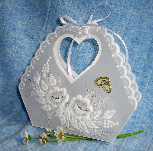 42. Svatební dárková taštička
